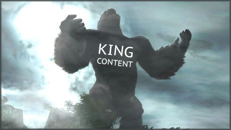 Content is King for SEO on the web