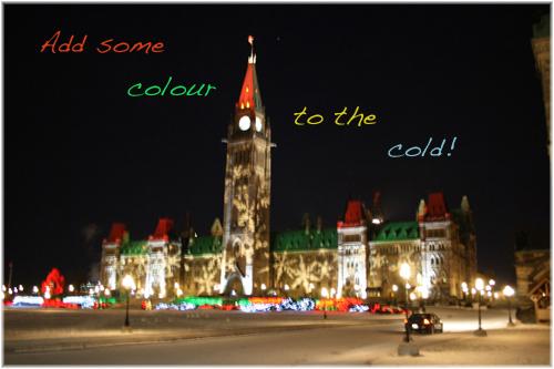 Parliament Buildings Ottawa Winter 2014